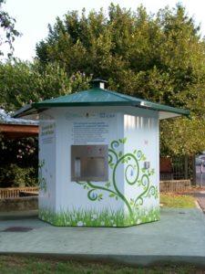 Casa dell'acqua : chiusura temporanea per manutenzione