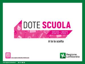 Bando Dote Scuola 2020/21