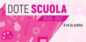 Dote Scuola: info utili per gli a.s. 2019/2020 e 2020/2021
