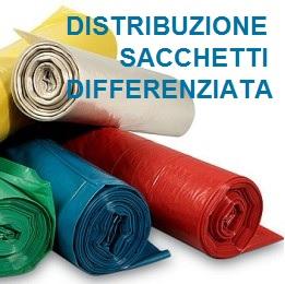 Distribuzione Sacchi Raccolta Differenziata – Anno 2020