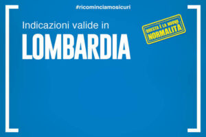 Disposizioni in vigore in Regione Lombardia dal 15 Luglio al 31 Luglio
