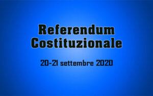 Referendum popolare confermativo 20 e 21 settembre 2020