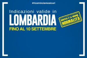 Disposizioni valide in Lombardia dal 1° agosto al 10 settembre