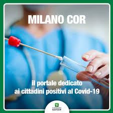 Milano COR: il portale per i cittadini risultati positivi al Covid 19.