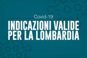 """Disposizioni valide in Lombardia – dal 6 novembre """"zona rossa"""""""