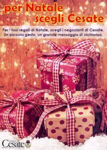 Per i tuoi regali di Natale scegli i negozi di Cesate