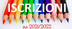 Iscrizioni scuole statali a.s. 2021/2022