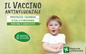 Campagna Vaccinazione Antinfluenzale gratuita per i bambini