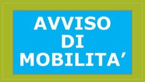 Avviso Mobilità Volontaria per N. 1 posto di Istruttore Direttivo – Cat. D – Servizio Finanziario e  Fiscalità Locale