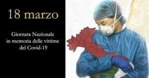 """18 marzo """"Giornata Nazionale in memoria delle vittime dell'epidemia da Coronavirus"""""""