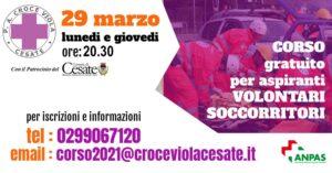 Croce Viola – Corso per Aspiranti Volontari Soccorritori