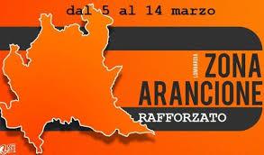 """La Lombardia in """"arancione rafforzato"""" da venerdì 5 marzo fino a domenica 14 marzo 2021"""