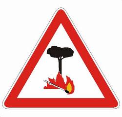 Periodo ad alto rischio di incendio boschivo