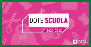 Dote Scuola- a.s. 2021/2022