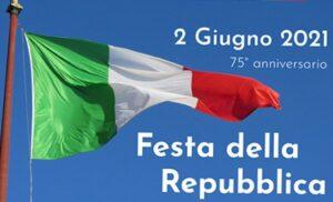 2 Giugno 2021- Discorso istituzionale del Sindaco Roberto Vumbaca in occasione del 75° anniversario della Festa della Repubblica