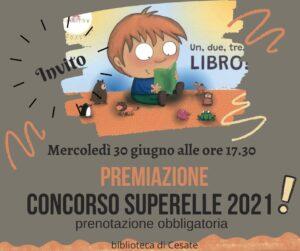 Premiazione concorso Superelle 2021