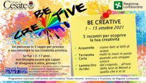 Be Creative – percorso artistico per ragazzi