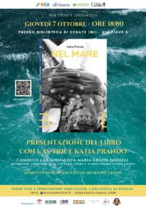 """Presentazione del libro """"Nel Mare"""" di Katia Prando"""