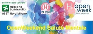 OpenWeekend Salute Mentale – Venerdì 8 ottobre
